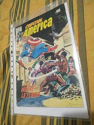 Comic Capitan América
