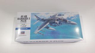Maqueta avión Harrier AV-8B 1/72 Hasegawa
