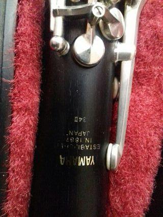 clarinete yamaha 34 II de madera