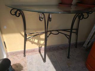 mesa recibidor