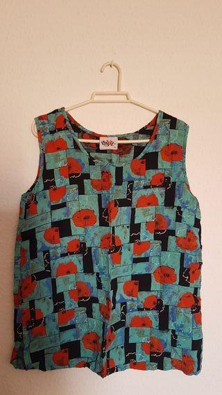 blusa verano vintage