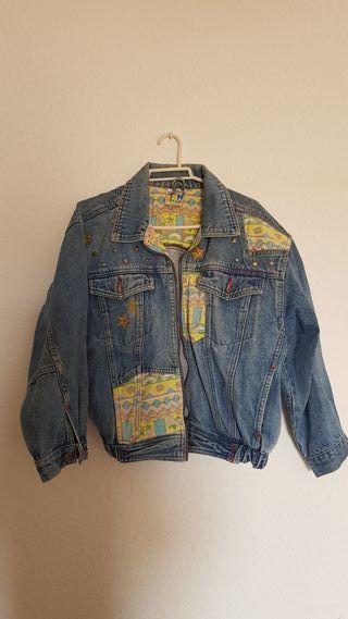 chaqueta vaquera vintage antigua