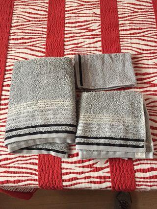 Juegos toallas 3 piezas