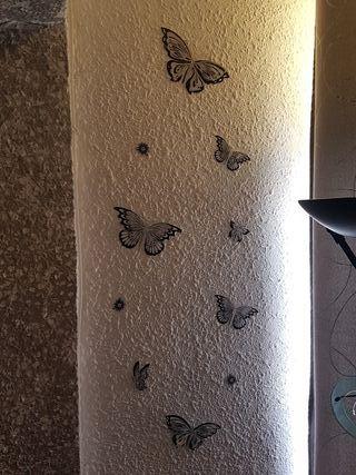 Pegatinas decorativas pared