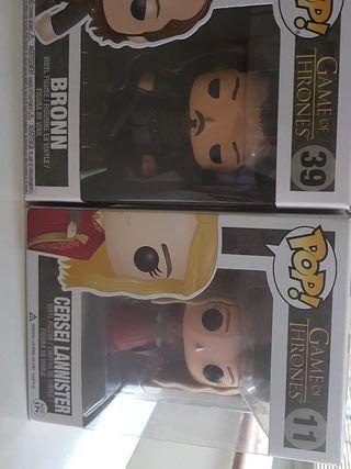 Cersei y Bronn Funko Juego de Tronos