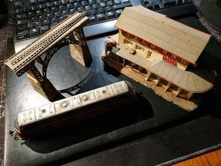 Modelisme ferroviari H0 - Pont i cafè/hotel