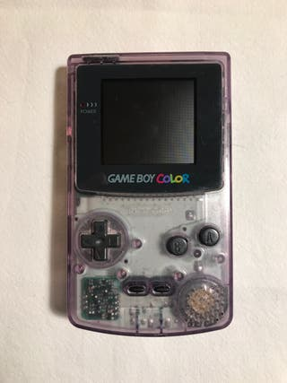 GAME BOY Color Morada Transparente