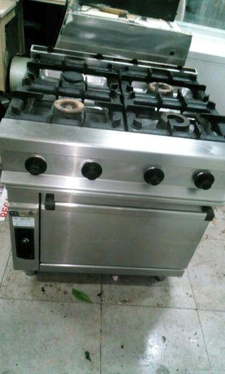 cocina 4 fuegos