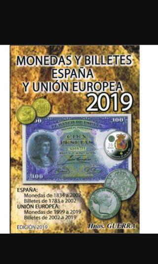 Catalogo Monedas y Billetes España coleccionismo