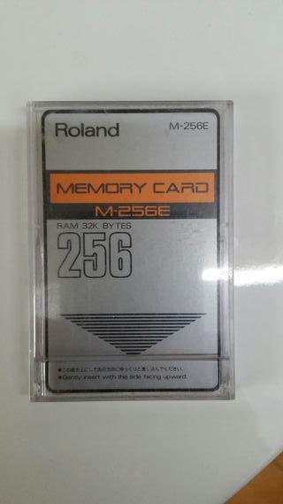 Tarjeta de Memoria Roland M256E
