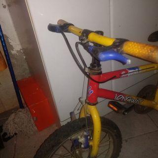 bicicleta de 16 pugadas niñ@