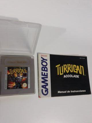 juego game boy turrican
