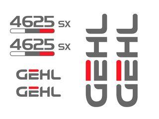 Kit de pegatinas para Gehl 4625 sx