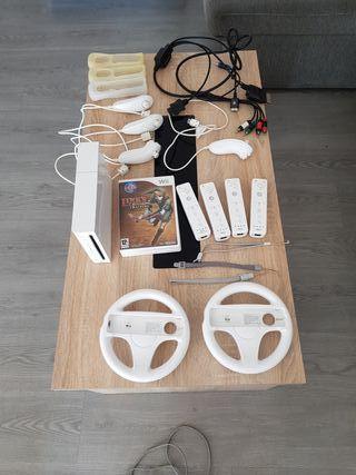 Wii con 4 mandos completos y Juegos a elegir!