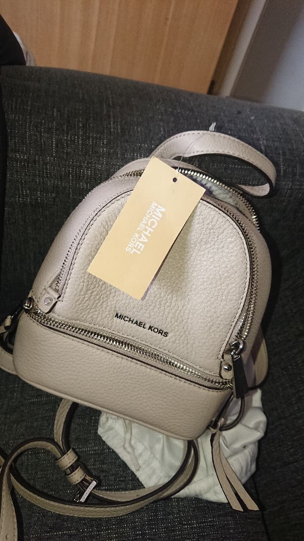 Mini Nude Michael Kors Bag Pack