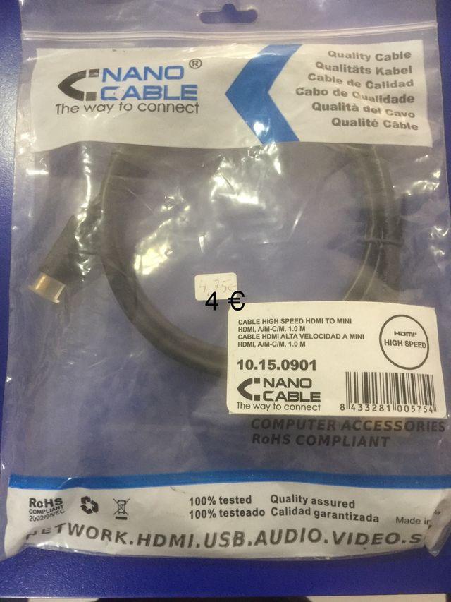 Cable hdmi a minihdmi