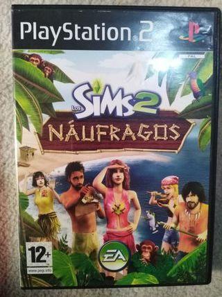 Los Sims 2 Naufragos (PS2)