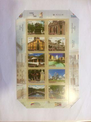 Sellos postales de Venezuela