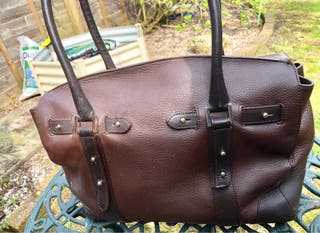 Ladies Brown Aspinal of London Designer Handbag