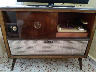 radio tocadisco años 50