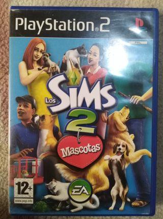 Los Sims 2 Mascotas (PS2)