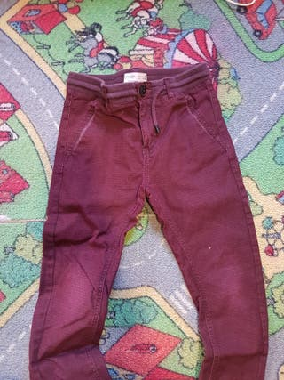 pantalón niño zara