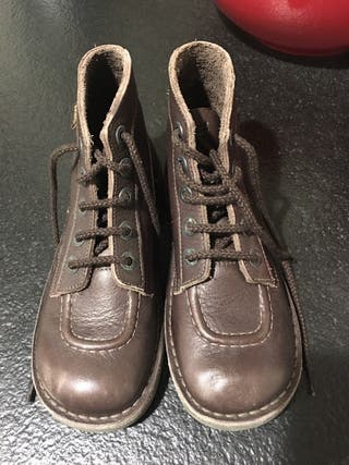 Kickers botines zapatos chico t.35