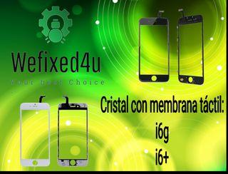 Cristal con táctil iphone 6g y 6+