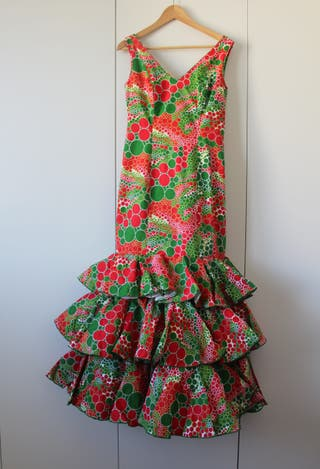 Vestido flamenca Manuela Macías