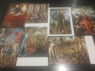 Estuche de 15 postales del Museo del prado