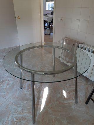 Mesa de cristal IKEA