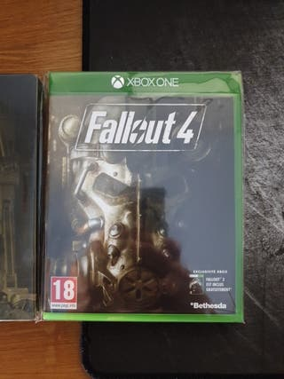 Fallout 4 + steelbook + Poster para Xbox One