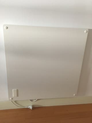 Panel calefactor de pared.