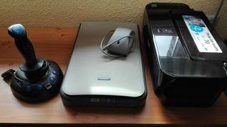 Impresora + Escáner + Joystick
