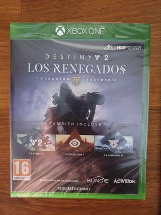 Destiny 2 Los Renegados para Xbox One
