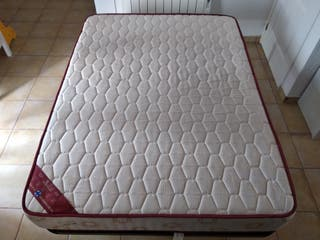 Somier + colchón 135x180 cm