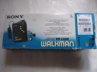 walkman sony wm-EX606 en caja original