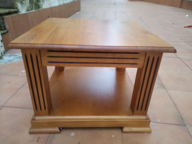 Conjunto mesa centro y auxiliar