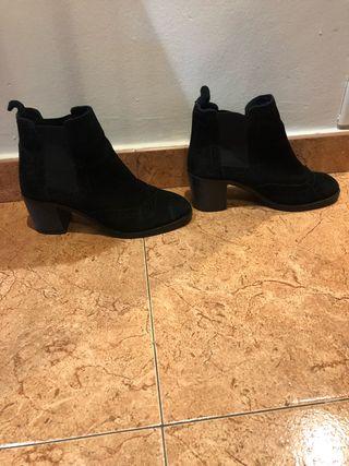 Botines negros de Stradivarius