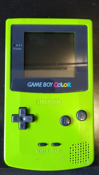 Game boy color CGB-001 verde