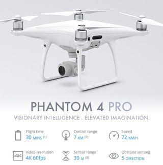 Alquiler dron DJI Phantom 4 Pro
