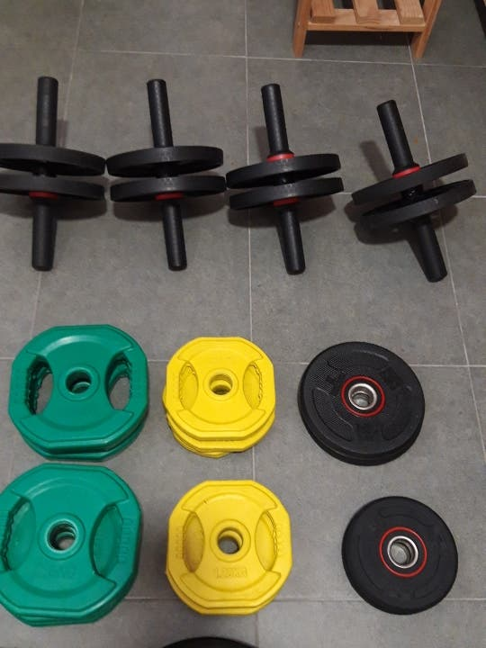 pesas de body pump