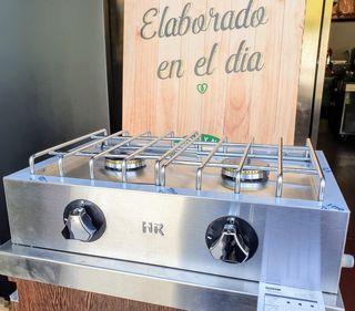 COCINA DE SOBREMESA A GAS HR