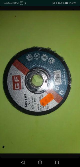 Disco de corte amoladora pequeña