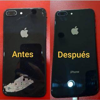 Cambio de tapa trasera iPhone 8,8+,X,Xr,Xs,Xs Max