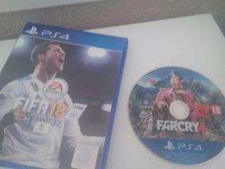 fifa 18 + farkcry 4