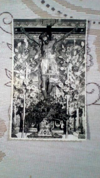 Antigua Foto de Cristo
