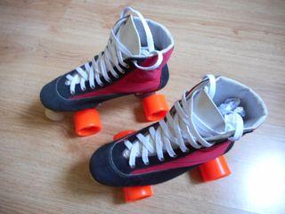 Patines Quad Roller Hockey Retro Vintage NOS Patin