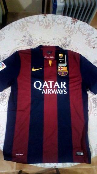 Camiseta FC Barcelona dedicada y autentica