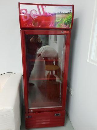 frigorífico nevera exhibidor como nuevo